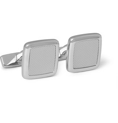 Hugo Boss Ennio Silver-Plated Cufflinks