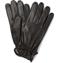 WANT Les Essentiels de la Vie Chopin Cashmere-Lined Leather Gloves
