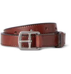 Yuketen 2.5cm Brown Leather Belt