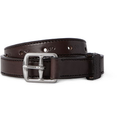 Yuketen Brown 2.5cm Leather Belt
