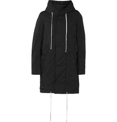 Rick Owens DRKSHDW Oversized Padded Cotton-Blend Fishtail Parka