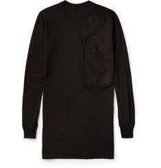Rick Owens Pocket-Detailed Cotton-Jersey T-Shirt