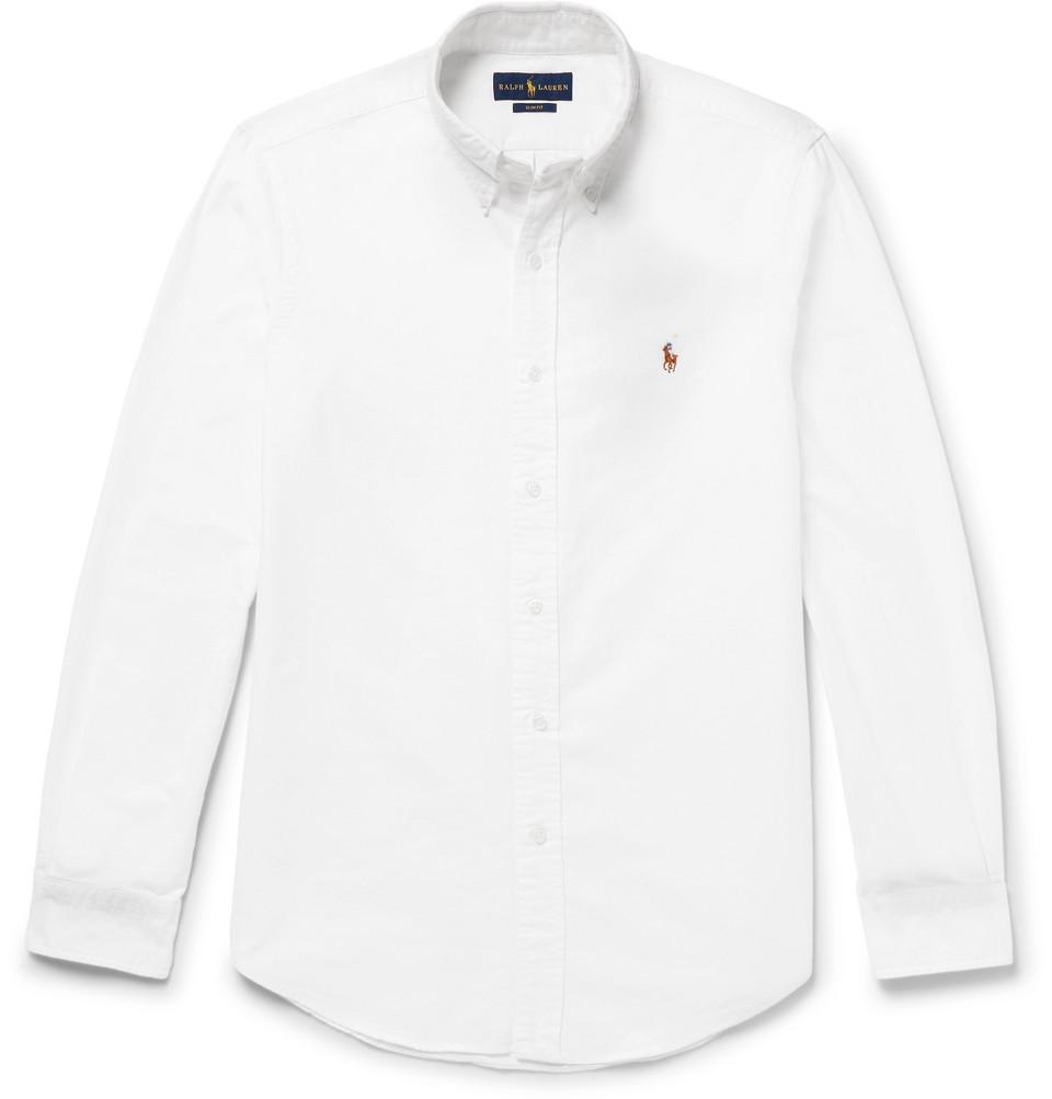 Polo Ralph Lauren Slim-Fit Cotton Oxford Shirt