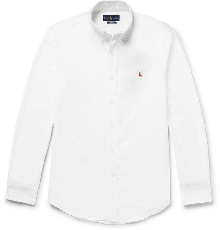 18127b014212 Polo Ralph Lauren - Slim-Fit Cotton Oxford Shirt
