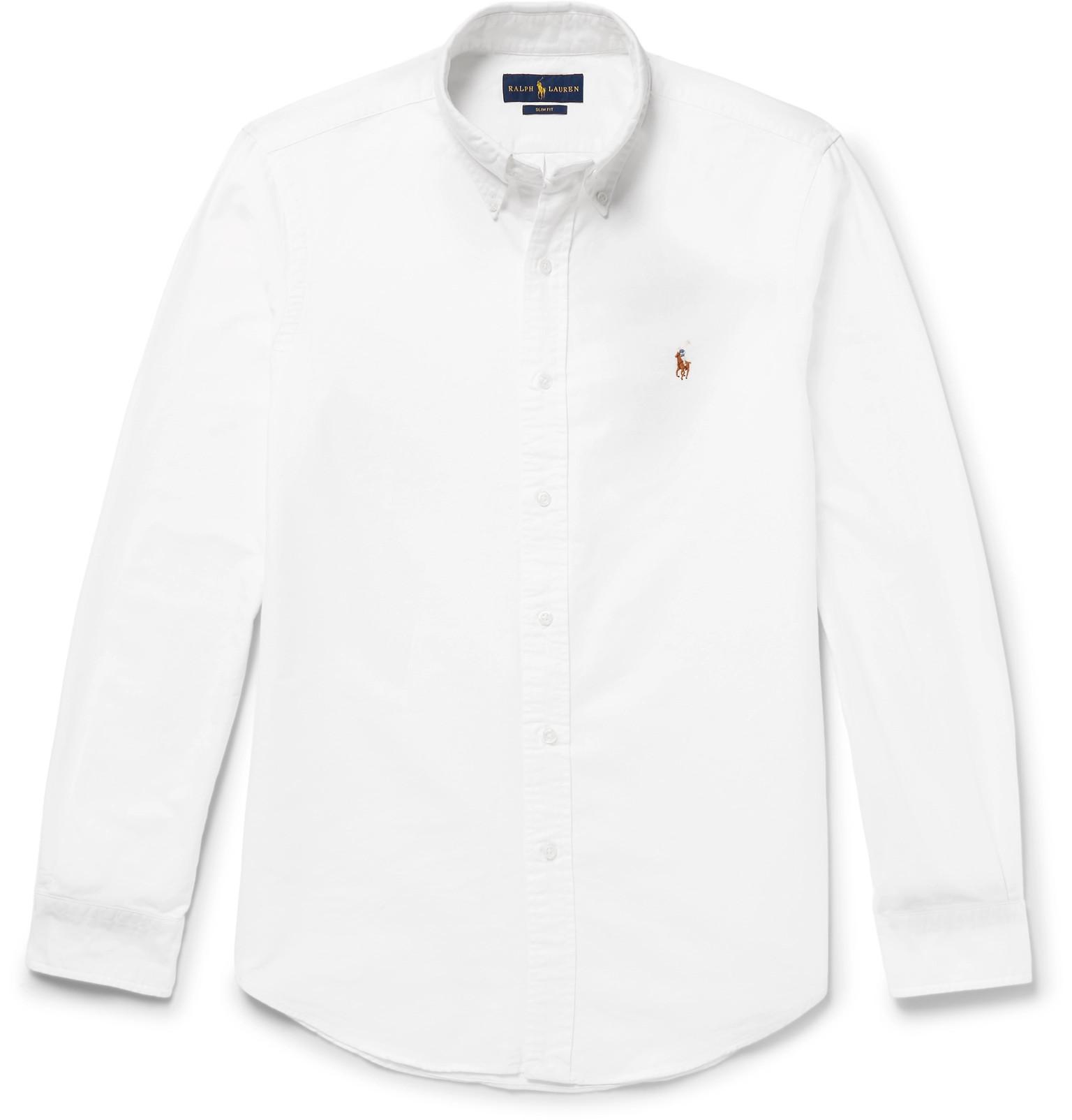 1bbbe0577dab Polo Ralph Lauren - Slim-Fit Cotton Oxford Shirt