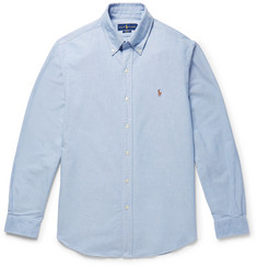 폴로 랄프로렌 셔츠 Polo Ralph Lauren Slim-Fit Cotton Oxford Shirt,Blue