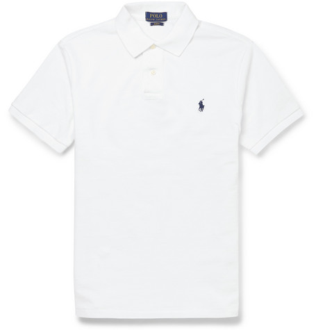 1cfc025c Polo Ralph Lauren - Slim-Fit Cotton-Piqué Polo Shirt