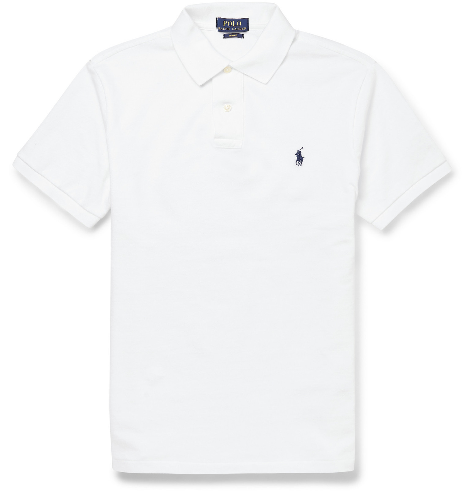 Polo Ralph LaurenSlim-Fit Cotton-Piqué Polo Shirt