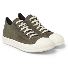 Rick Owens DRKSHDW Corduroy Low-Top Sneakers