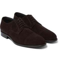 Hugo Boss - Stoder Suede Oxford Brogues