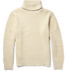 Gant Rugger Ribbed-Knit Rollneck Sweater