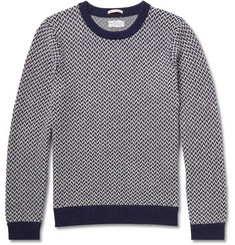 Gant Rugger Tuck-Stitch Knitted Sweater