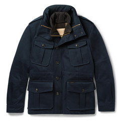 Burberry Brit Cotton Coat with Detachable Jacket