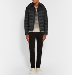 Burberry Brit Hooded Quilted Shell Down Coat