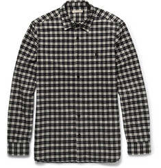 Burberry Brit Slim-Fit Checked Cotton-Flannel Shirt