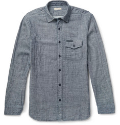 Burberry Brit Slim-Fit Slub Cotton Shirt