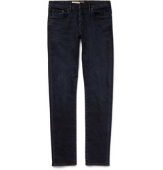 Burberry Brit Slim-Fit Washed Stretch-Denim Jeans