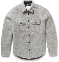Saturdays Surf NYC Jeremiah CPO Mélange Knitted Shirt Jacket