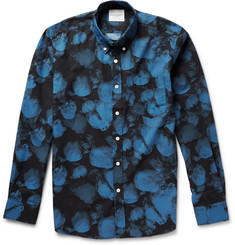 Saturdays Surf NYC Crosby Printed Cotton-Poplin Shirt