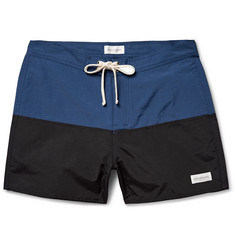 Saturdays Surf NYC Ennis Two-Tone Swim Shorts