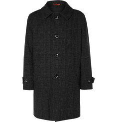 Barena Checked Flannel Coat