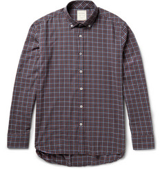 Billy Reid Murphy Checked Cotton Shirt