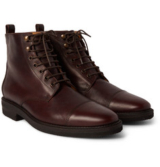 Billy Reid - Kieran Cap-Toe Leather Boots