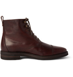 Billy Reid Kieran Cap-Toe Leather Boots