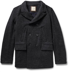 Billy Reid Bond Virgin Wool Peacoat