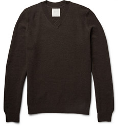 Billy Reid Mélange Wool Sweater