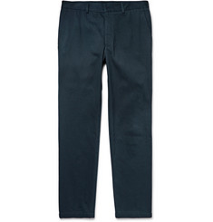 Steven Alan Trecker Slim-Fit Cotton-Twill Trousers