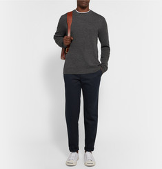 Steven Alan Seamless Wool and Cashmere-Blend Sweater
