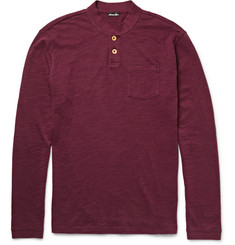 Steven Alan Slub Cotton Henley T-Shirt