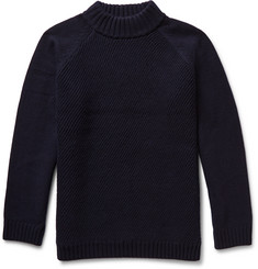 Steven Alan Coper Wool and Cashmere-Blend Rollneck Sweater