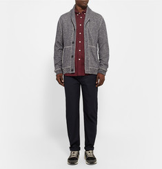 Steven Alan Collegiate Slim-Fit Herringbone Cotton Shirt
