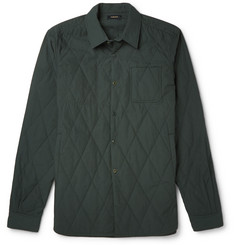 Undercover Diamond-Quilted Cotton Overshirt