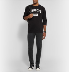 Undercover Printed Loopback Cotton-Jersey Sweatshirt
