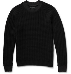 Undercover Slim-Fit Distressed Wool and Cashmere-Blend Sweater