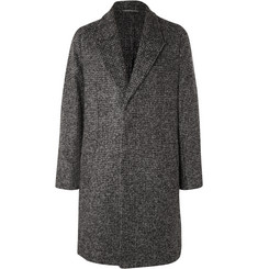 Berluti Unstructured Mohair-Blend Bouclé Coat