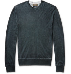 Berluti Cashmere and Silk-Blend Sweater