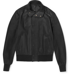 Berluti Nubuck Leather Jacket