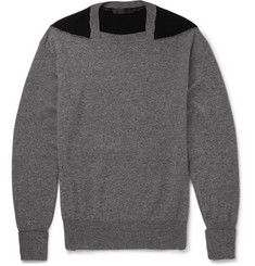 Alexander McQueen Slim-Fit Wool, Cashmere and Silk-Blend Sweater