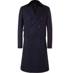 Alexander McQueen Double-Breasted Wool Overcoat