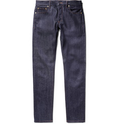 Alexander McQueen Slim-Fit Selvedge Denim Jeans