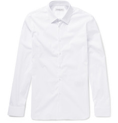 Burberry London - Slim-Fit Stretch Cotton-Blend Poplin Shirt
