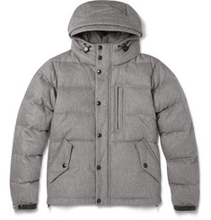 Burberry London Down-Filled Quilted Wool and Cashmere-Blend Jacket
