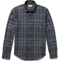 Burberry London Slim-Fit Checked Cotton Shirt