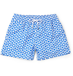 Frescobol Carioca - Ipanema Slim-Fit Short-Length Printed Swim Shorts