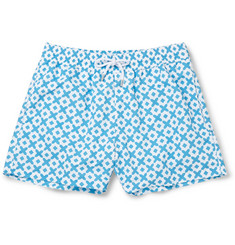 Frescobol Carioca Paraty Slim-Fit Short-Length Printed Swim Shorts