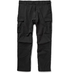 White Mountaineering Cotton-Blend Twill Cargo Trousers